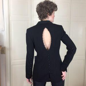 Escada Black Tuxedo Jacket Size 6